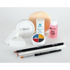 Ben Nye Deluxe Clown Makeup Kit - White Face