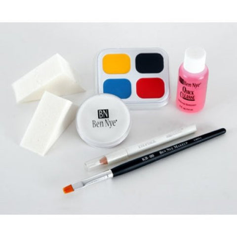 Ben Nye Clown Makeup Kit - Whiteface