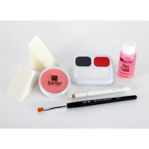 Ben Nye Clown Makeup Kit - Auguste