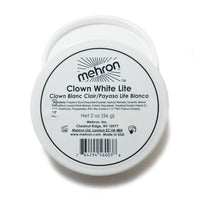 Mehron Clown White Lite Makeup