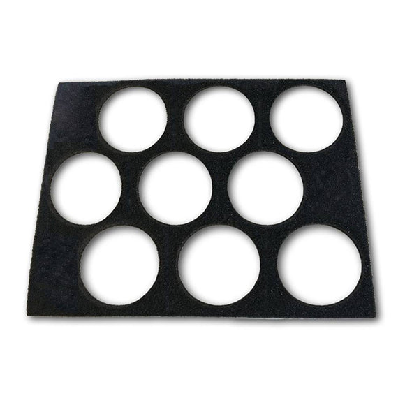Empty Pressed Powder Palette Case Insert (9 Colors)