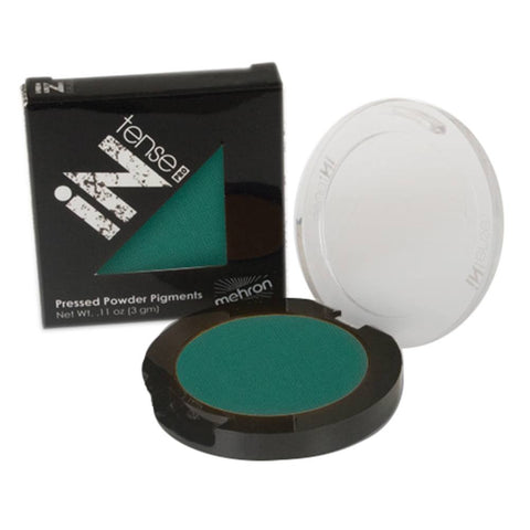 Mehron INtense Pro Pressed Powder - Tropical Storm Green