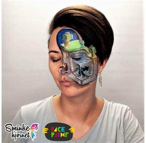 Superstar Face Paint - Ink Blue 243