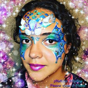 Superstar Face Paint - Snow Petrol Shimmer 273