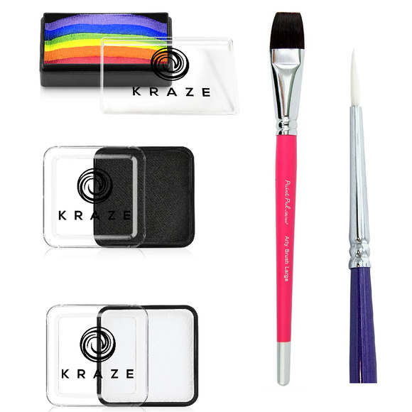 Facepaint.com One Stroke Starter Kit