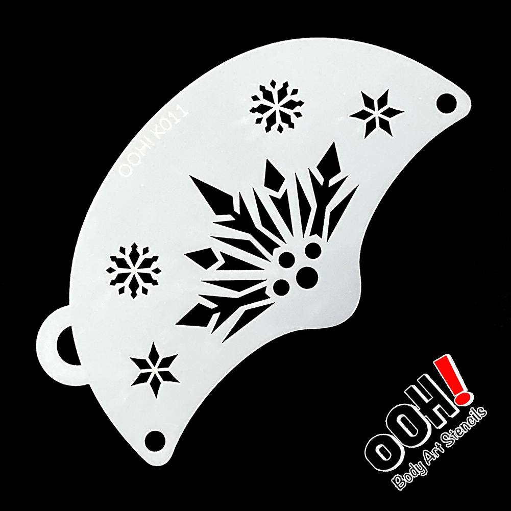 Ooh! Mask Stencil - Snowflake Queen