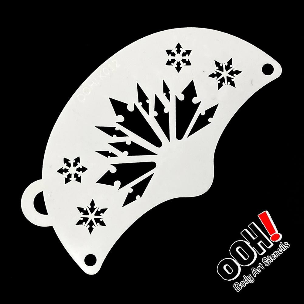 Ooh! Mask Stencil - Snowflake Princess