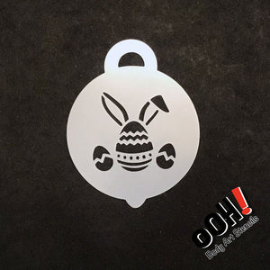 Ooh! Petite Stencil - Easter Bunny Egg