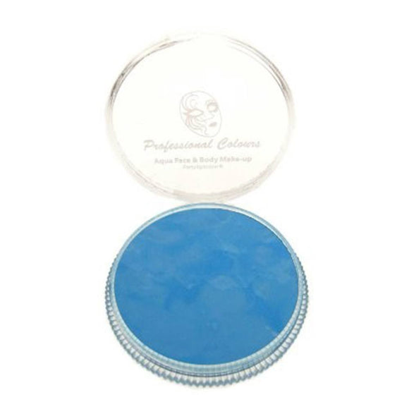 PartyXplosion Blue Aqua Face Paints - Sky Blue (30 gm)