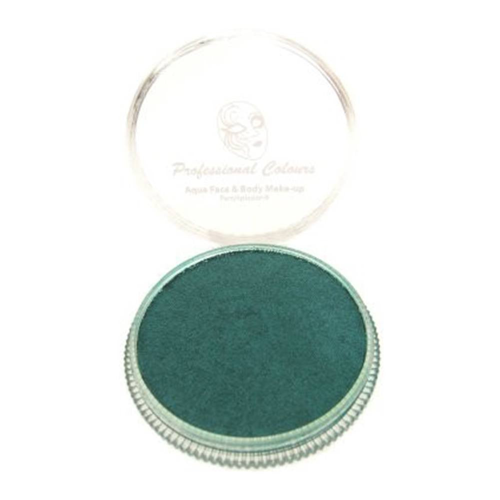 PartyXplosion Green Aqua Face Paints - Pearl Green (30 gm)