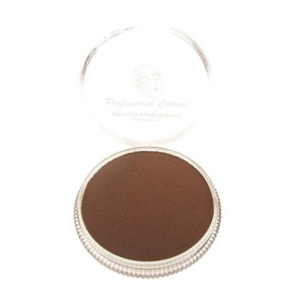 PartyXplosion Brown Aqua Face Paints -Brown (30 gm)