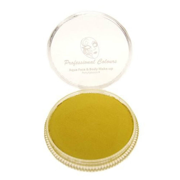 PartyXplosion Yellow Aqua Face Paints - Pearl Yellow (30 gm)