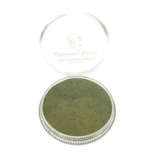 PartyXplosion Green Aqua Face Paints - Pearl Antique Green (30 gm)