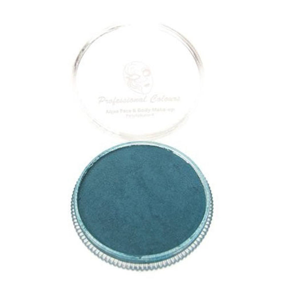 PartyXplosion Blue Aqua Face Paints - Pearl Sea Blue (30 gm)