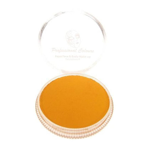 PartyXplosion Orange Aqua Face Paints - Pastel Orange (30 gm)