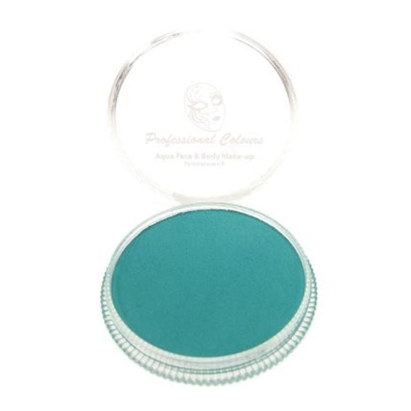 PartyXplosion Green Aqua Face Paints - Pastel Green (30 gm)