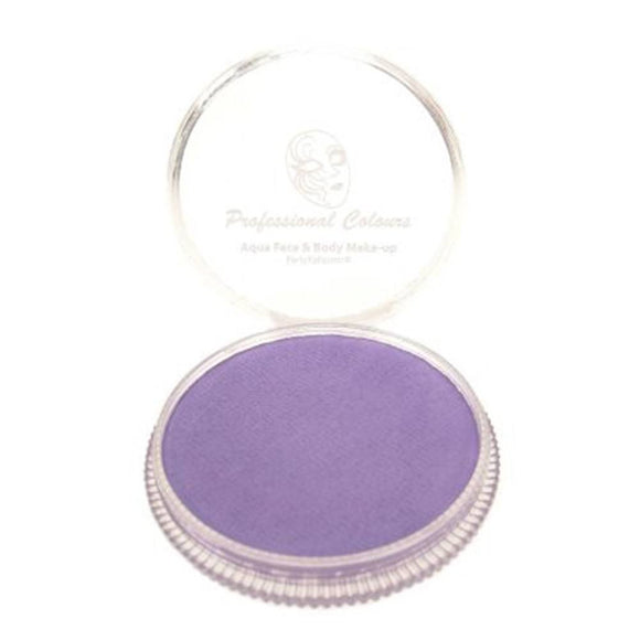 PartyXplosion Purple Aqua Face Paints - Soft Lavender (30 gm)