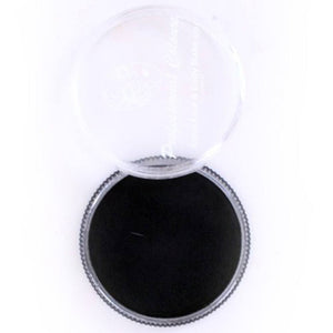 PartyXplosion Black Aqua Face Paint Refills - Strong Black