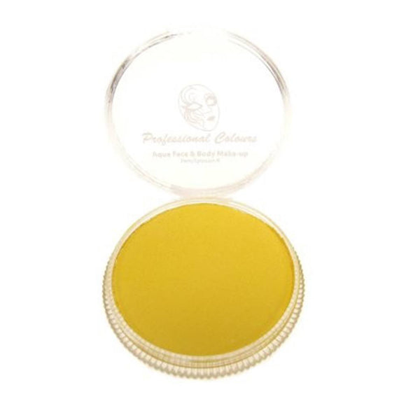 PartyXplosion Yellow Aqua Face Paints - Sunflower Yellow (30 gm)