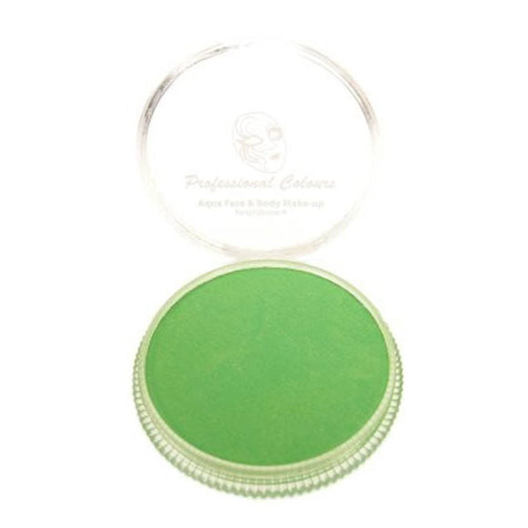 PartyXplosion Aqua Face Paint - Lime Green