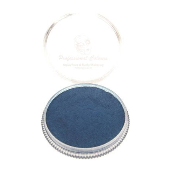 PartyXplosion Blue Aqua Face Paints - Pearl Dark Blue (30 gm)
