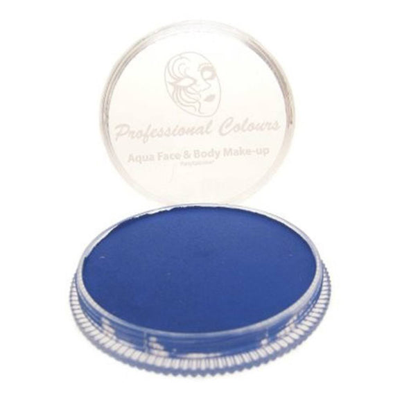 PartyXplosion Blue Aqua Face Paints - Blue Blacklight
