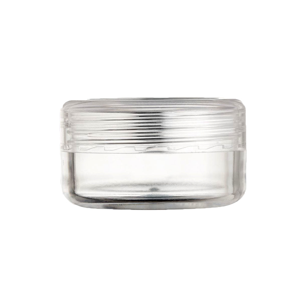 Clear Round Threaded Jar (10 gm)