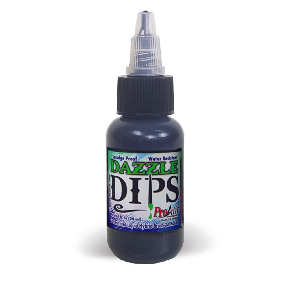 ProAiir DIPS Waterproof Makeup - Black Dazzle (1 oz/30 ml)