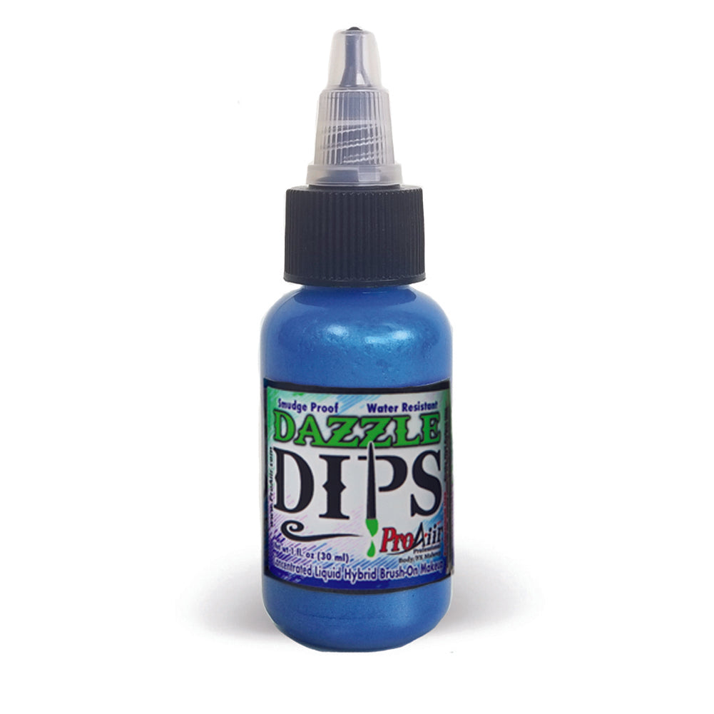 ProAiir DIPS Waterproof Makeup - Blue Dazzle (1 oz/30 ml)