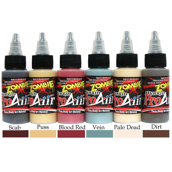 ProAiir Hybrid 6-Color Kit - Zombie 2 (1 oz/30 ml)