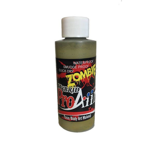 ProAiir Hybrid Zombie Makeup - Swamp Moss (2.1 oz/60 ml)