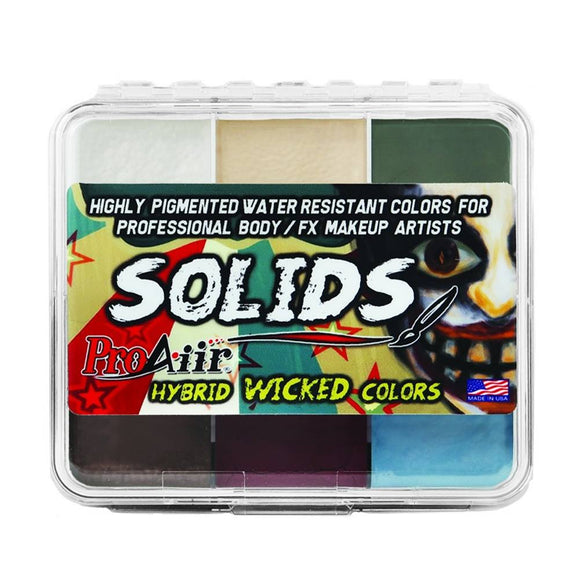 ProAiir Solids Water Resistant Makeup Palette - Wicked