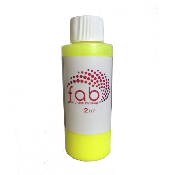 FAB Hybrid Airbrush Makeup - Fluorescent Yellow (2 oz/58 ml)