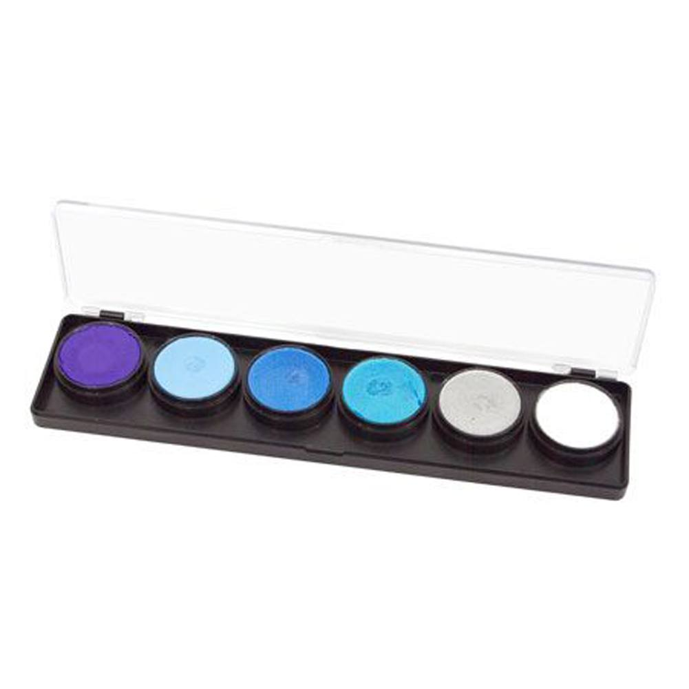 FAB Frozen Face Paint Palette (6 Colors - 11 gm)