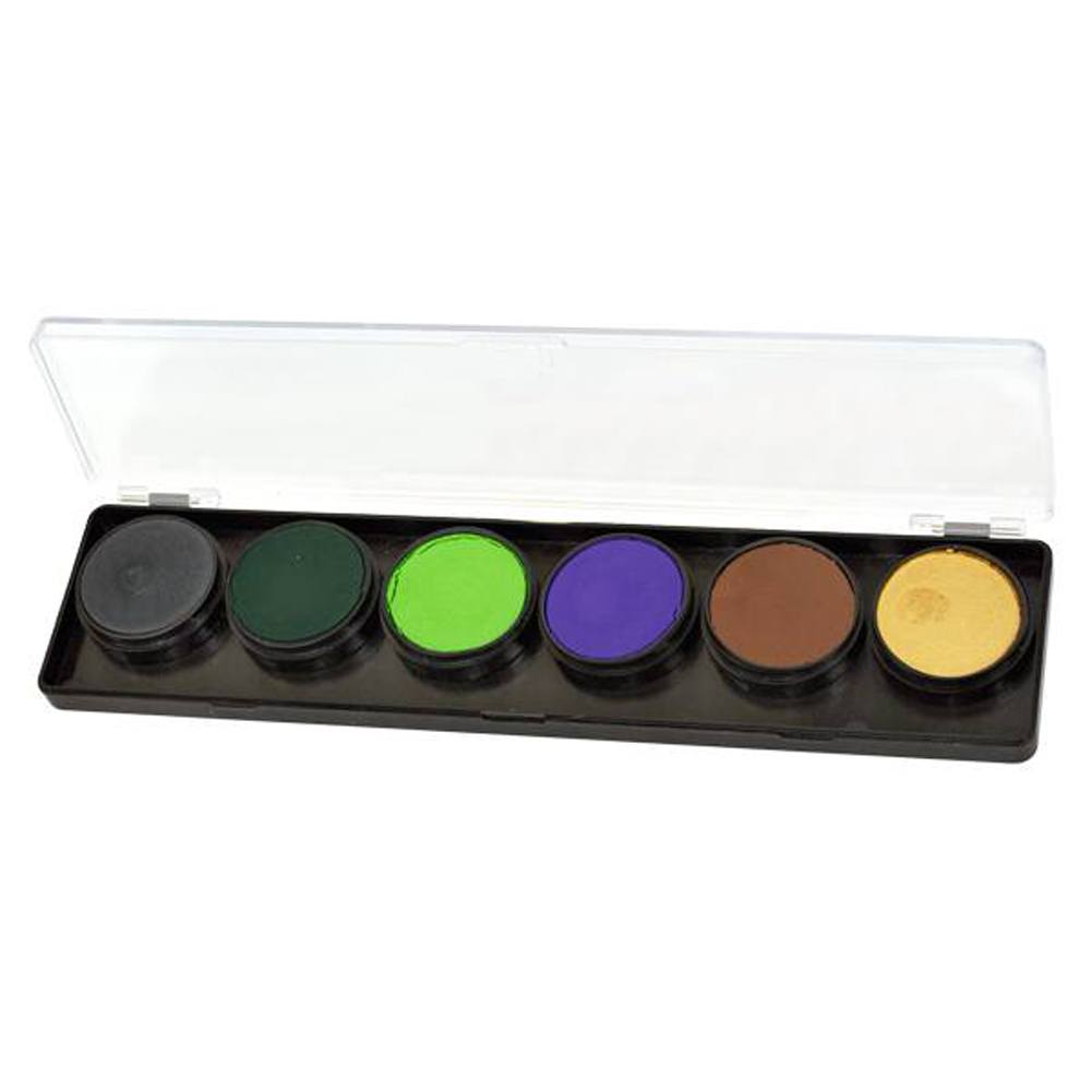 FAB Monster Mash Face Paint Palette (6 Colors - 11 gm)