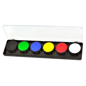 FAB Primary Face Paint Palette (6 Colors - 11 gm)