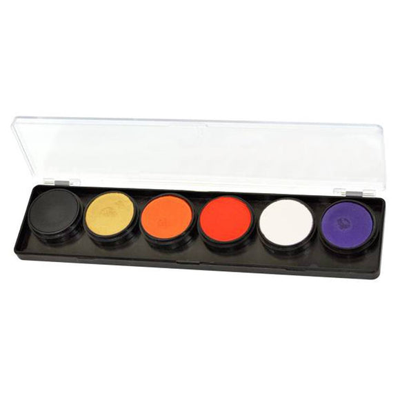 FAB Pumpkin Patch Face Paint Palette (6 Colors - 11 gm)