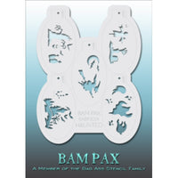 Bad Ass BAM PAX Stencils - BABP 3024 - Haunted