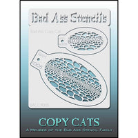 Bad Ass Copy Cat Stencil - BACC 9005
