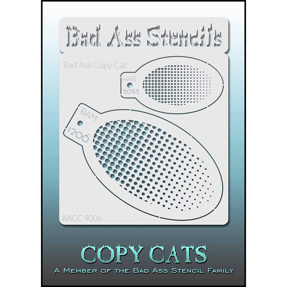 Bad Ass Copy Cat Stencil - Gradient - BACC 9006