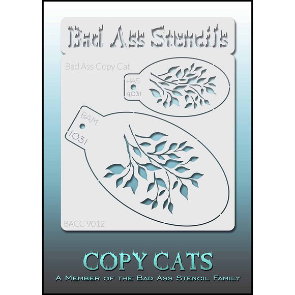 Bad Ass Copy Cat Stencil - BACC 9012