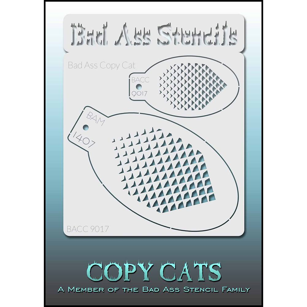Bad Ass Copy Cat Stencil - BACC 9017