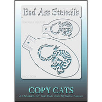 Bad Ass Copy Cat Stencil - BACC 9034