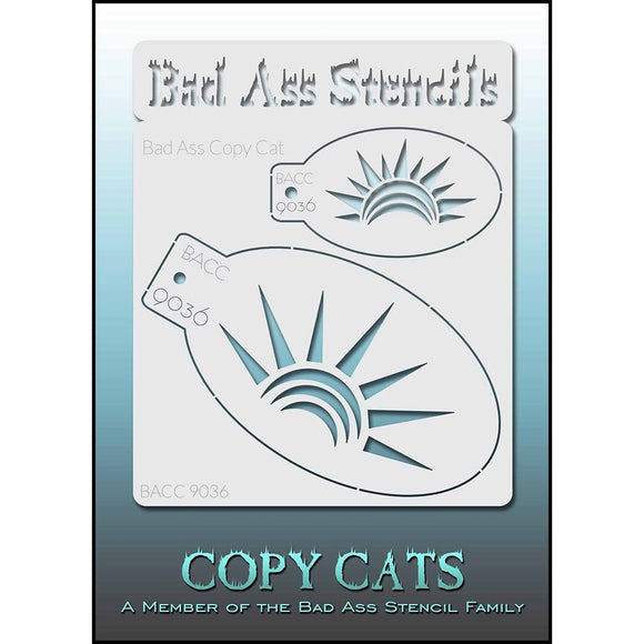 Bad Ass Copy Cat Stencil - BACC 9036