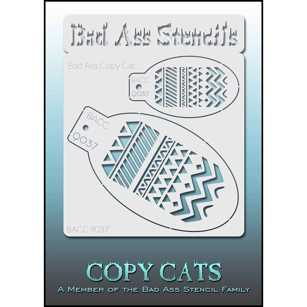 Bad Ass Copy Cat Stencil - BACC 9037