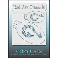 Bad Ass Copy Cat Stencil - BACC 9040