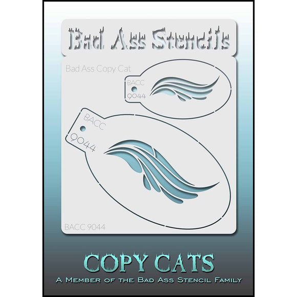 Bad Ass Copy Cat Stencil - BACC 9044