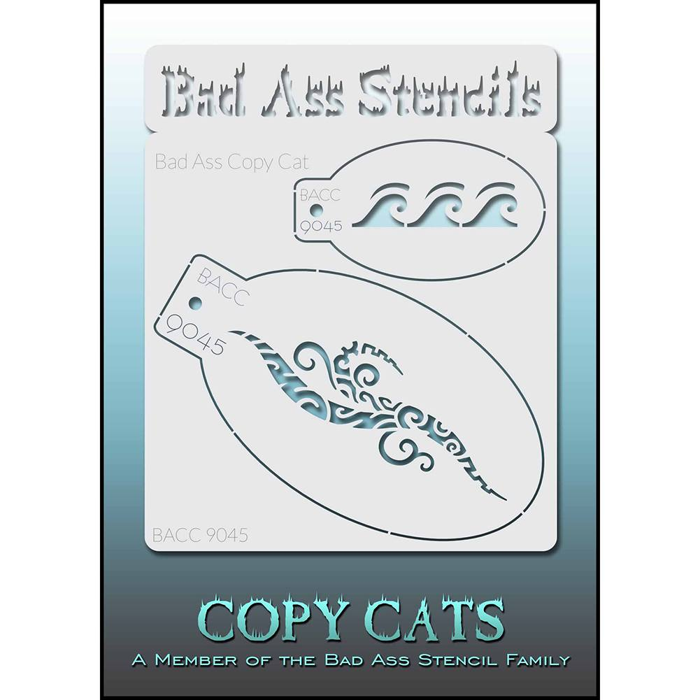 Bad Ass Copy Cat Stencil - BACC 9045