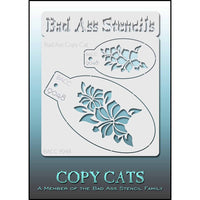 Bad Ass Copy Cat Stencil - BACC 9048