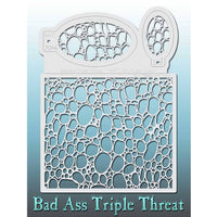 Bad Ass Triple Threat Stencil - Later Gator 7014